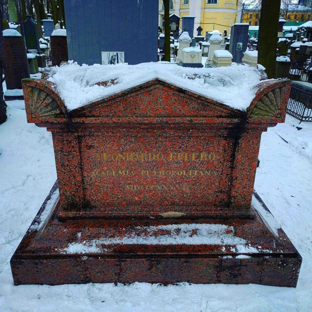 Here lies Leonhardo Eulero, Academia Peterpolitano